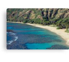 Hanuma Bay Beach Canvas Print