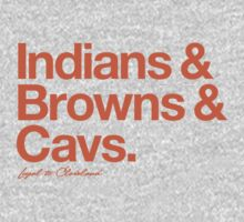Loyal to Cleveland (Orange Print) Kids Clothes