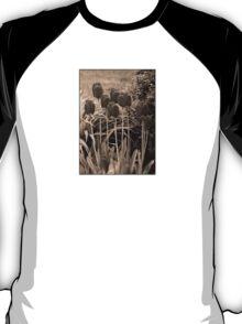 sepia tulip clump T-Shirt