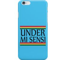 UNDER MI SENSI iPhone Case/Skin