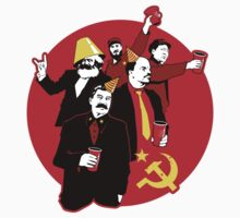 The Communist Party Sticker by Tom Burns