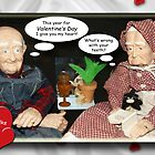 Paw and Maw on Valentine's Day by Terri Chandler