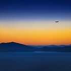 Blue Hour Flight  by Thrasivoulos
