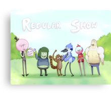 Regular Show / Print Canvas Print