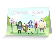 Regular Show / Print Greeting Card