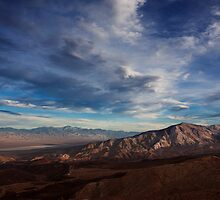 Father Crowley Vista Point. Panamint Range and Panamint Valley. by Alex Preiss