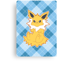 Simply Jolteon Canvas Print