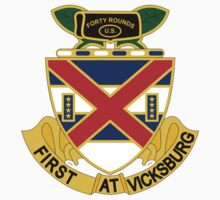 13th Infantry Regiment - First At Vicksburg by VeteranGraphics