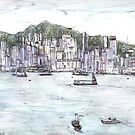 Hong Kong Island From Kowloon by John Douglas