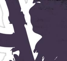 Terrorist Purple Sticker