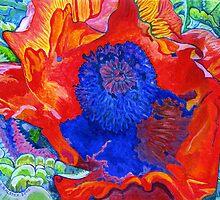 Japanese Poppy No.9 by Morgan Ralston