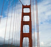 cloudy golden gate by photoeverywhere