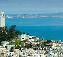 Coit Tower pioneer park by photoeverywhere
