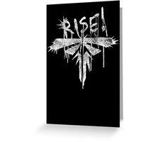 Fireflies - Rise! White Version Greeting Card