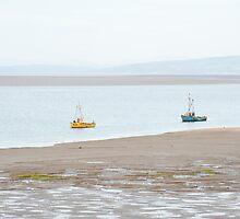 Fishing boats at Morecambe by photoeverywhere