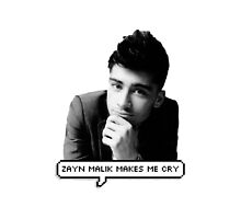 Zayn Malik Makes Me Cry by AllaBeck