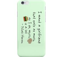 Niall Horan Quote iPhone Case/Skin