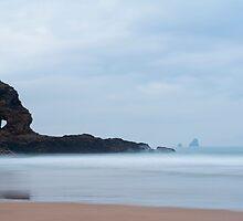 Coastline at Perran Beach, Perranporth by photoeverywhere