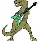 rock and roll t-rex by mroland992