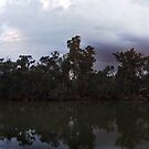 Sunset on the Murray River by Joel Bramley