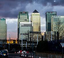 Canary Warf by timkouroff