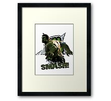Hulk SMASH! Framed Print