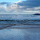 Evening at Harlyn Bay - Cornwall by Samantha Higgs