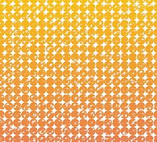 vintage gradient dots pattern background by elgreko