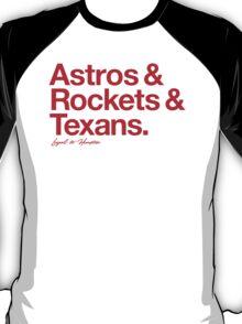Loyal to Houston (Red Print) T-Shirt