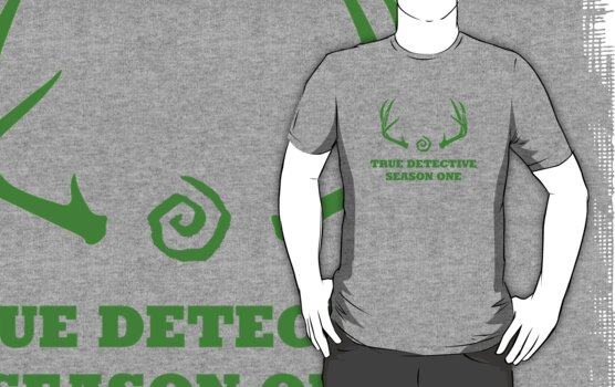 True Detective - Season One Antlers - Green by Prophecyrob