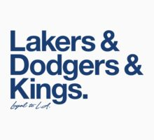 Loyal to Los Angeles (Blue Print) Kids Clothes
