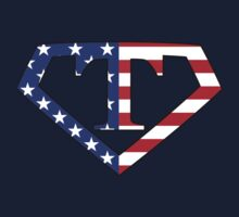 Super American T Logo by TheGraphicGuru