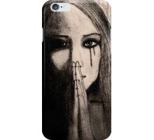 The Silent Cry iPhone Case/Skin