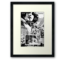 Faith Fallon Graphic Novel Page © Steven Pennella Framed Print