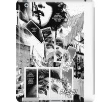 Faith Fallon Graphic Novel Page © Steven Pennella iPad Case/Skin