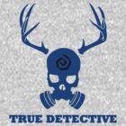 True Detective - Gas Mask - Blue by Prophecyrob