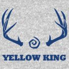 True Detective - Yellow King Antlers - Blue by Prophecyrob