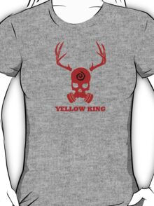 True Detective - Yellow King Gas Mask - Red T-Shirt
