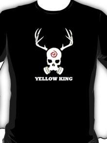True Detective - Yellow King Gas Mask - White T-Shirt