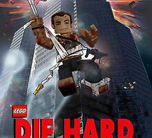 Lego Die Hard by Deadpoolinc