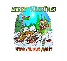 Santas killings Photographic Print