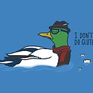 Trendy Duck by SteveOramA