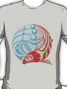 Circling Salmon T-Shirt