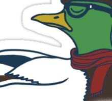 Trendy Duck Sticker