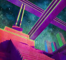 Cosmic Staircase by sighvan