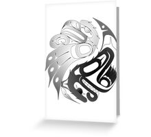 Eagle Bear Greeting Card