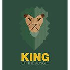 king of the jungle by HemenDesign