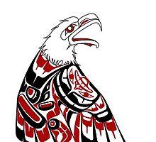 Eagle Human by Spirit-Ink