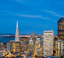 san francisco twilight by photoeverywhere