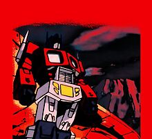 transformers optimus prime by colioni